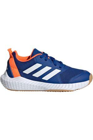 adidas Hallenschuh, FortaGym, Kinder, royalblau/weiß, 38 2/3, 2/3