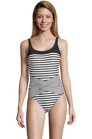 Sunflair Badeanzug, wattiert, chlorresistent, UV-Schutz, -weiß, 40