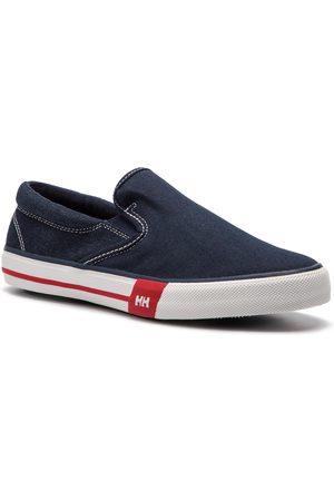 Helly Hansen Herren Sneakers - Copenhagen Slip-On Shoe 114-84.597 Navy/Grye Fog/Off White