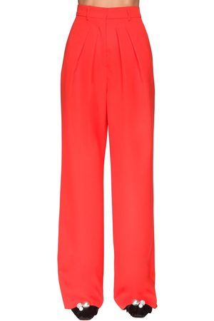 Rochas Damen Hosen & Jeans - Pleated Cool Wool Pants