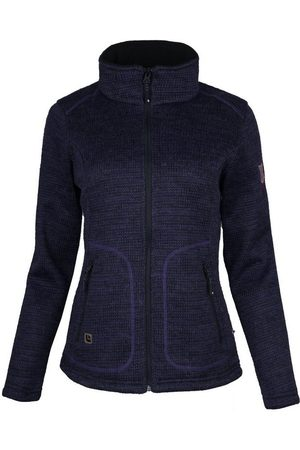 DEPROC-Active Strickfleecejacke »WILLMORE NEW I WOMEN« in edler Optik