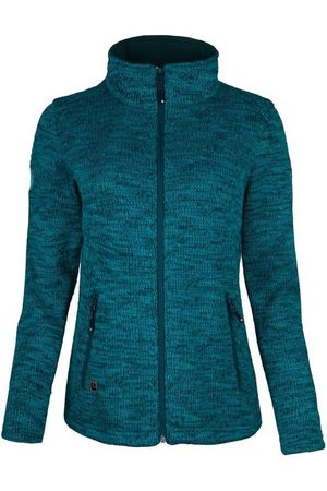 DEPROC-Active Strickfleecejacke »WILLMORE MELANGE WOMEN« in edler Optik