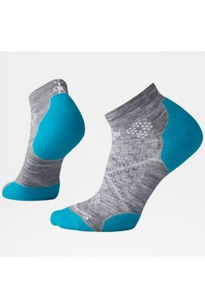 TheNorthFace The North Face Phd Damen Light Elite Low Cut Laufsocken Light Gray/capri Blue Größe L Women