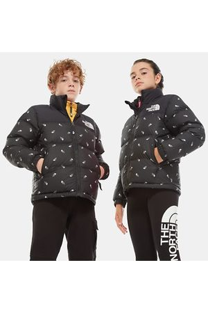 TheNorthFace The North Face Kinder 1996 Retro Nuptse Daunenjacke Tnf Black Tossed Logo Print Größe S Men