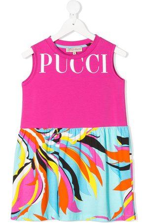 Emilio Pucci Mädchen Freizeitkleider - Kleid mit Print
