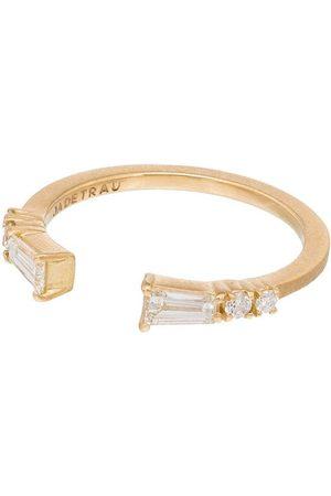 Jade Trau Damen Ringe - 18kt 'Astor' Goldring mit Diamanten