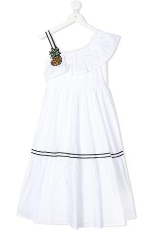 Monnalisa Mädchen Freizeitkleider - Einschultriges Kleid