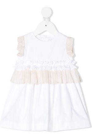 Il gufo Gerüschtes Kleid