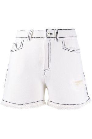 Barrie Shorts mit Ziernähten