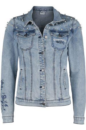 perlen jeans jacke von heine aus 1990