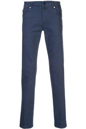 Kiton Halbhohe Skinny-Jeans