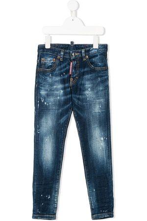 Dsquared2 Jungen Skinny - Skinny-Jeans in Distressed-Optik