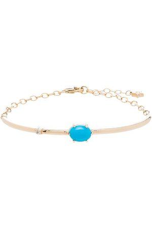 Andrea Fohrman Damen Armbänder - 14kt Gelbgoldarmspange mit Diamanten