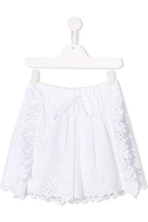 Alberta Ferretti Bestickte Shorts