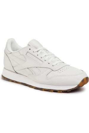 Reebok Herren Schuhe - Cl Leather Mu EH2395 Chalk/Chalk/Chalk