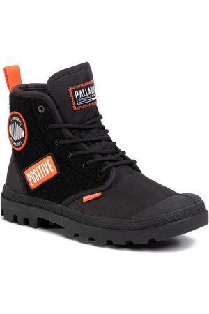 Palladium Pampa Hi Change 76648-001-M Black/Black