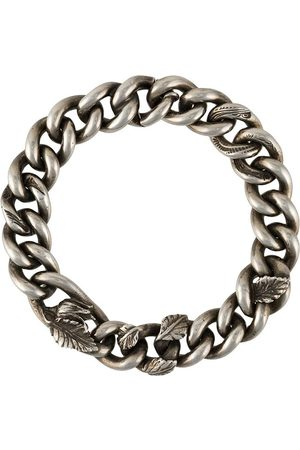 WERKSTATT:MÜNCHEN Herren Armbänder - Verziertes Kettenarmband