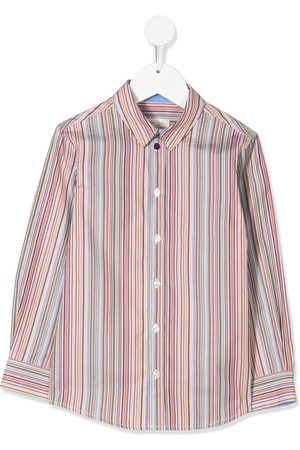 Paul Smith Mädchen Blusen - Gestreiftes Hemd