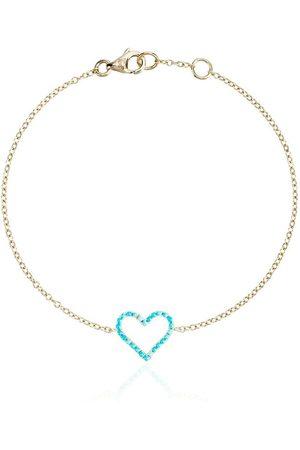 ROSA DE LA CRUZ Damen Armbänder - Armband mit Herzanhänger