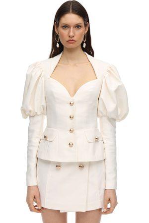 MARIANNA SENCHINA Cropped Heavy Twill Jacket