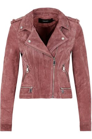 Vero Moda Wildleder Jacke Damen Pink