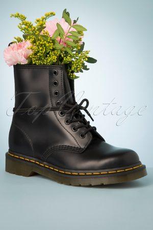 TopVintage Damen Stiefeletten - 1460 Smooth Ankle Boots in Black