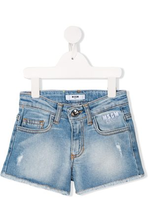 Msgm Jeans-Shorts im Distressed-Look
