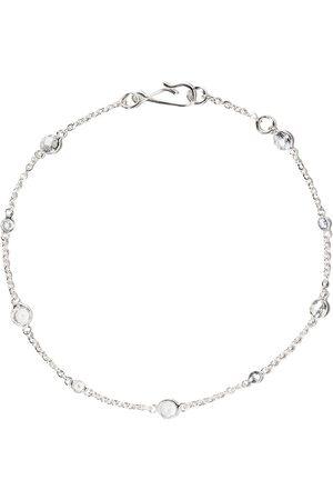 ANNOUSHKA 18kt Weißgoldarmband mit Saphiren