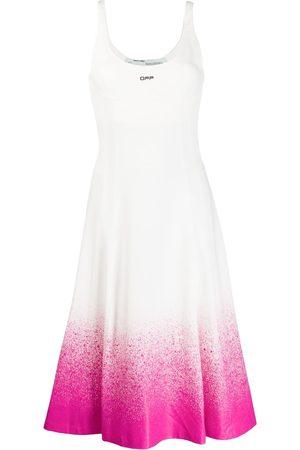 OFF-WHITE Kleid mit Farbverlauf