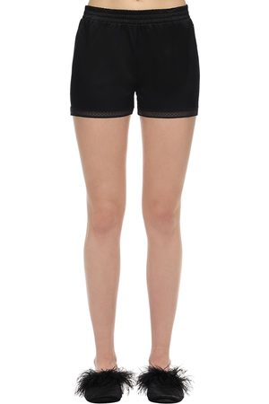 "Stella McCartney Shorts Aus Stretch-satin ""cressie"""
