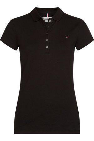 Tommy Hilfiger Poloshirt »HERITAGE SHORT SLEEVE SLIM POLO« mit Logo-Flag auf der Brust