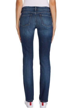 Tommy Hilfiger Straight-Jeans »HERITAGE ROME STRAIGHT RW« mit leichten Fadeout-Effekten