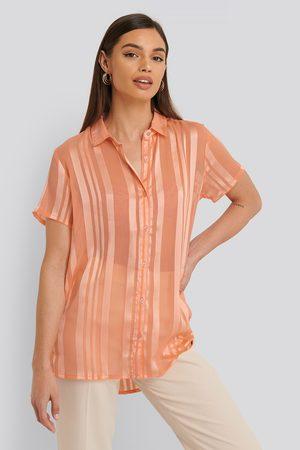 Sparkz Kurzarm-Oberteil - Pink,Orange