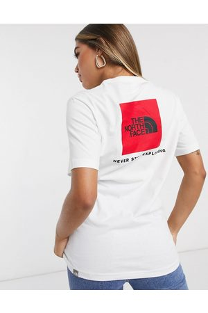 The North Face – Red Box – Weißes T-Shirt