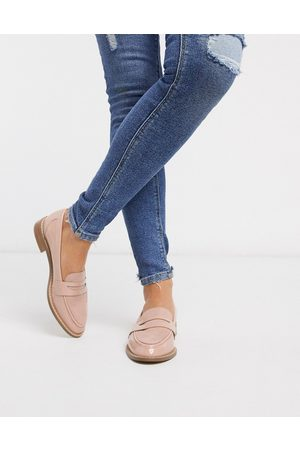 ASOS – Mail – Flache Lack-Loafer in