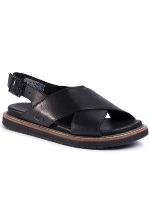 Keen Lana Cross Strap Sandal 1022584 Black/Black