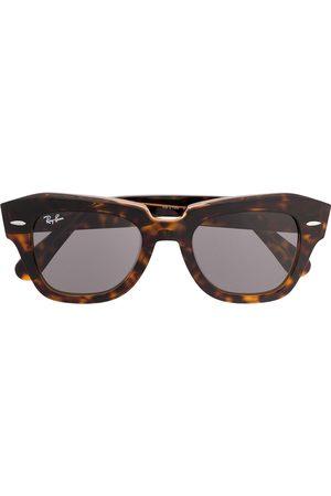 Ray-Ban Runde Brille in Schildpattoptik