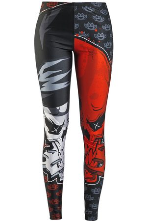 Five Finger Death Punch EMP Signature Collection Leggings multicolor