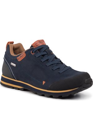 CMP Herren Outdoorschuhe - Elettra Low Hiking Shoe Wp 38Q4617 Black Blue N950