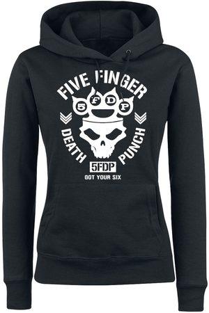Five Finger Death Punch Skull Knuckles Kapuzenpullover