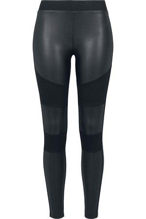 Urban classics Ladies Fake Leather Tech Leggings Leggings