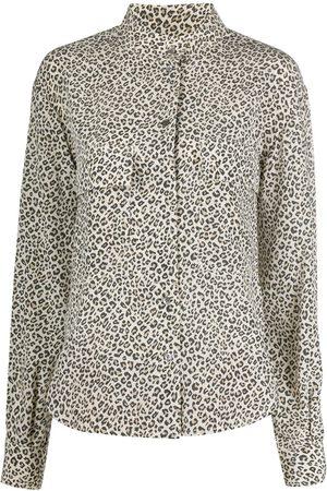 Frame Hemd mit Leoparden-Print