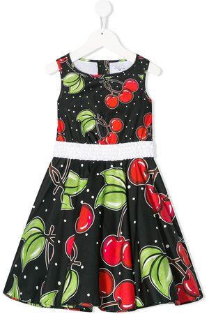 MONNALISA Kleid mit Kirschen-Print