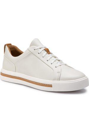 Clarks Damen Schnürschuhe - Un Maui Lace 261401684 White Leather