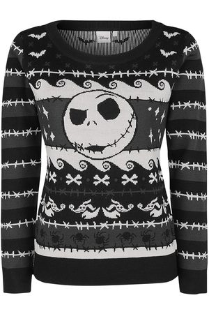 The Nightmare Before Christmas Pumpkin King Weihnachtspullover multicolor