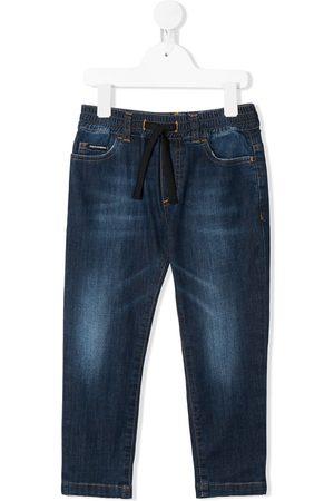 Dolce & Gabbana Kids Jeans mit Kordelzug