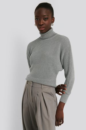 NA-KD Folded Knitted Sweater