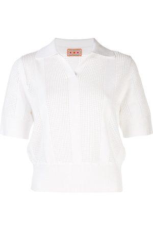 LHD Gestricktes Poloshirt