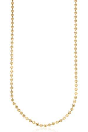 XEN Kugelkette 42 cm lang aus 925 Silber gelbvergoldet,