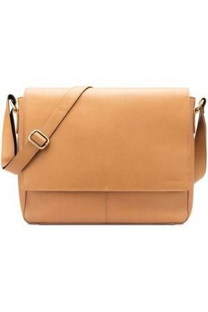 Leabags Messenger Bag Oxford, Desert Brown